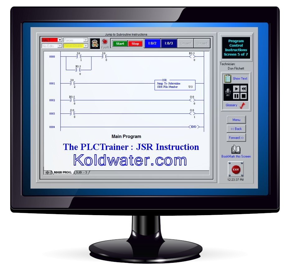 PLC Training Software