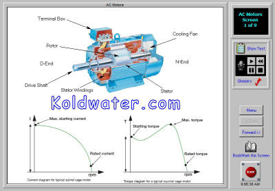 Variable frequency drives training software koldwater for Ac dc motors and drives fundamentals