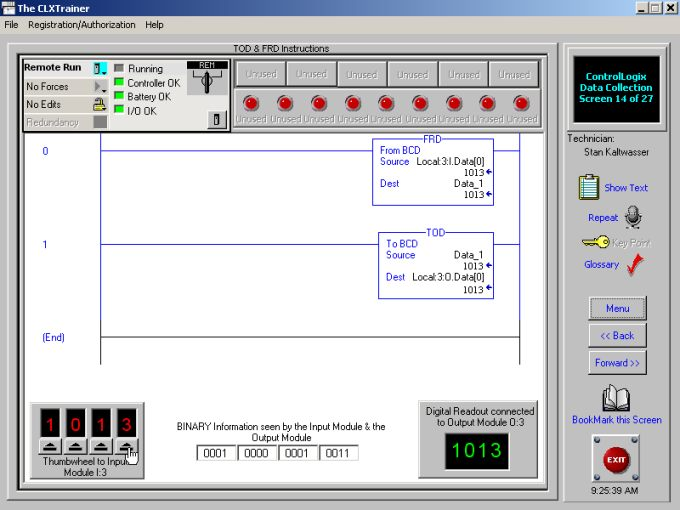 Interactive ControlLogix Training