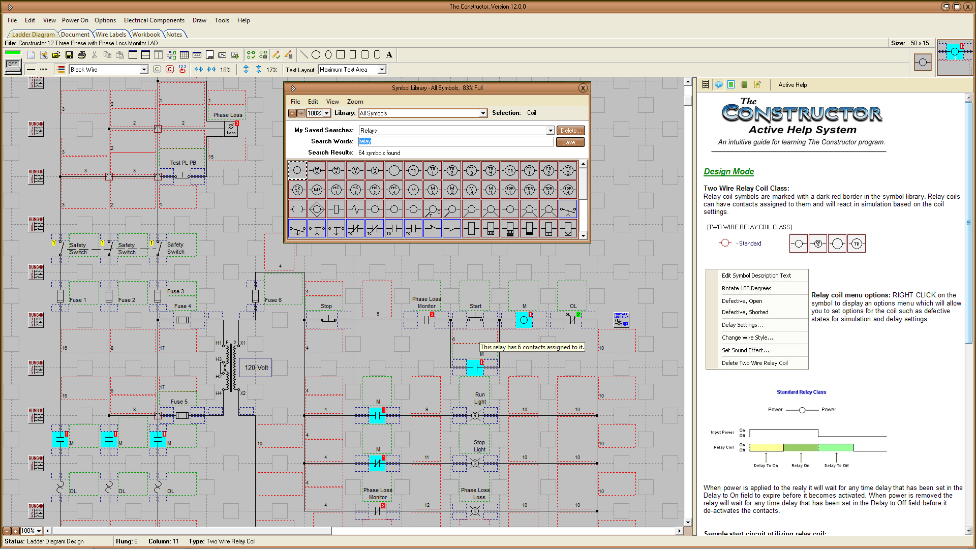 The Constructor 13 Circuit Simulator Wiring Diagram Creator Freeware Type Software Category Electrical