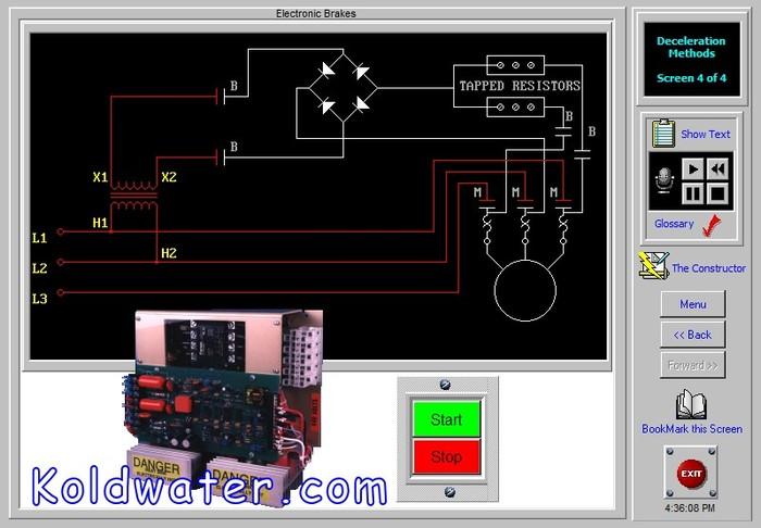 Electrical Plc Motor Control Hydraulics Training Software