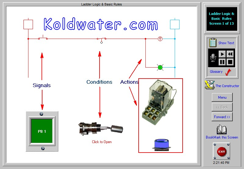 Electric Motor Control Circuit Training on
